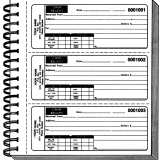 RECEIPT BOOK-UNIMPRINTED