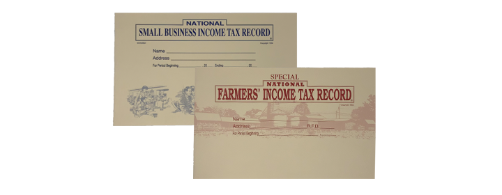 Income Tax Record Books